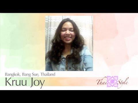 Thai Teacher : Kruu Joy (Bangkok, Thailand)
