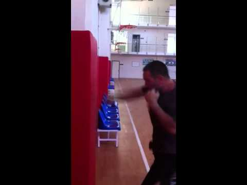 Çağdaş Agun/ Kickboxing punch workout Image 1