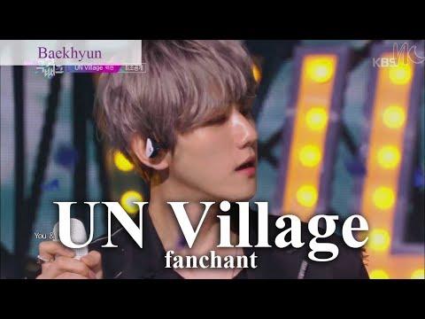 (Rom/Eng) Baekhyun - 'UN Village' Lyrics + FANCHANT