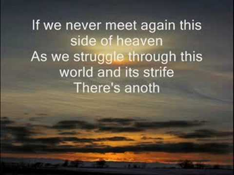 if we never meet again song lyrics