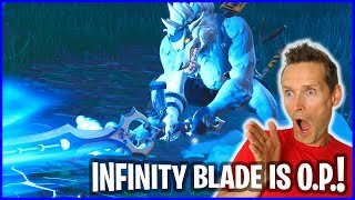 Infinity Blade is so O.P. !!!