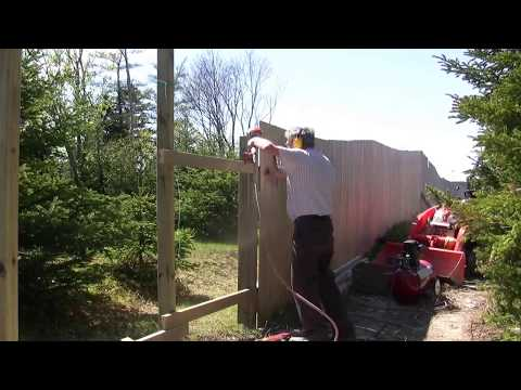 Kubota BX road and fence building SW corner (add-on video)