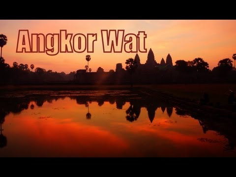 Exploring Angkor Wat at the Temples of Angkor, Siem Reap Province, Cambodia