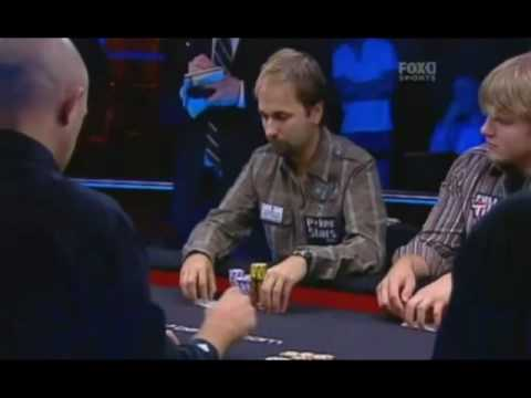 Daniel Negreanu vs Hansen and Antonius AAs in the same table