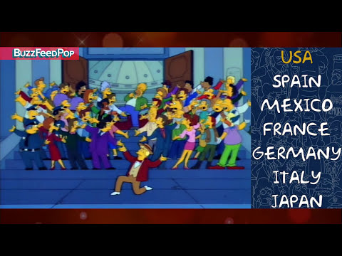 What the Simpsons Sound Like in Other Countries