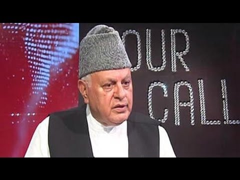 Advise Mamata to rethink her action: Farooq Abdullah to NDTV