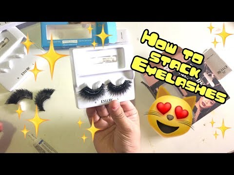 HOW TO STACK EYELASHES | DRAG QUEEN TUTORIAL | JAYMES MANSFIELD