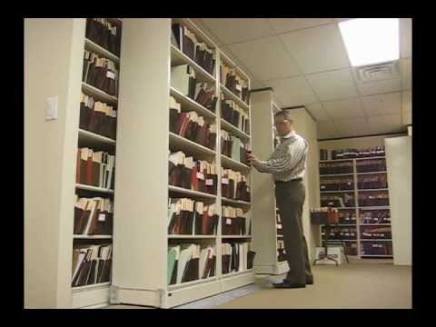 Sideways Sliding Shelves | Rolling Legal File Box Storage ...