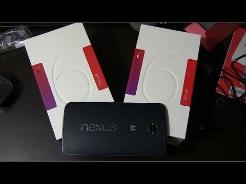 Google Nexus 6 Unboxing and Hands On