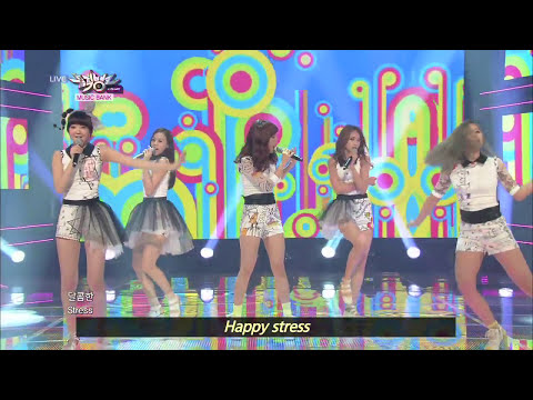SKARF - Luv Virus (2013.06.22) [Music Bank w/ Eng Lyrics]