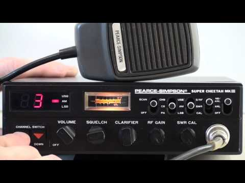 PEARCE SIMPSON SUPER CHEETAH MKIII AM/SSB CB RADIO CAR 4WD