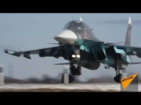Как три боевых самолета приземлились на шоссе под Ростовом