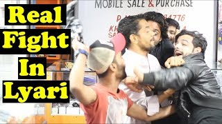 Hafta Wasooli Prank Gone Wrong In Lyari | Part 2 | Pranks In Pakistan | Humanitarians