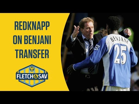 Redknapp: I had to shove Benjani out the door! | Fletch and Sav