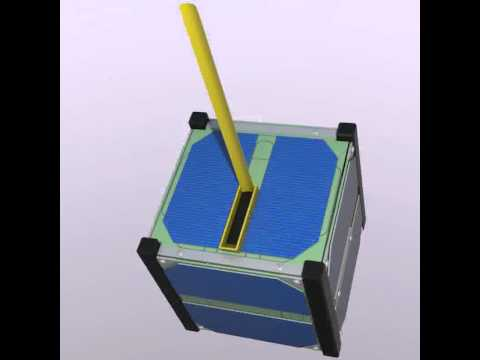 3D Model of Cube Satellite