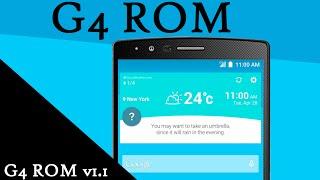 LG G2 - Como instalar a ROM do LG G4 (CloudyG2 3.1) D805/D802