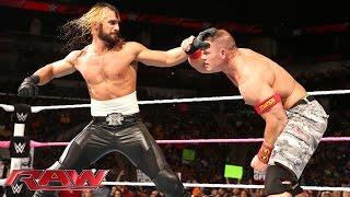 නිමක් නොමැති පහරට පහර ...... John Cena vs. Seth Rollins: Raw, October, 27, 2014