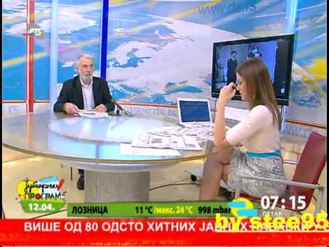 Maja Nikolic Jutarnji Rts-a 12.april video