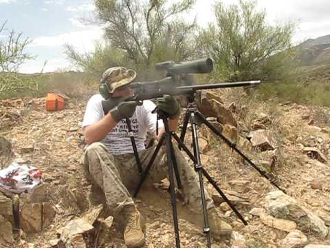 Outdoorsmans Long-range Rear Rifle Support system (OLRRS) in the field part 1