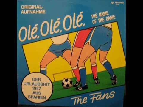 The Fans - Ole, Ole, Ole [the Name Of The Game] (instrumental) video