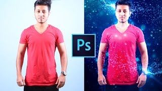 Photoshop Tutorial | How to Make Pre-wedding Rain Light Effect