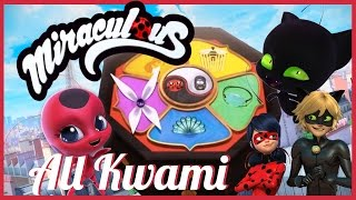 Miraculous Ladybug: All Kwami and Miraculous Holders in Season 2!