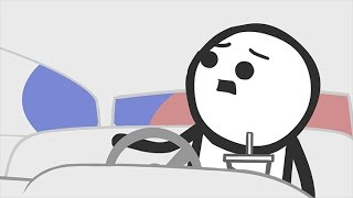 Pulled Over - Cyanide & Happiness Minis