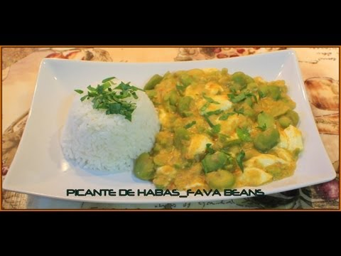 PICANTE DE HABAS FAVA BEANS