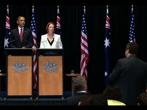 President Obama's News Conference with Prime Minister Gillard of Australia