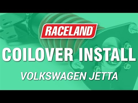 How To Install Raceland VW MK5/6 Jetta Coilovers
