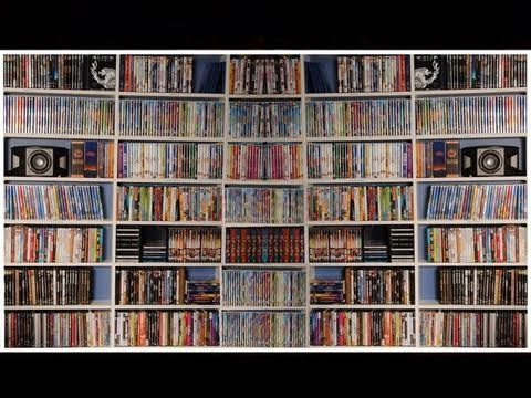 My entire DVD Collection from 2010 -  over 700 titles!