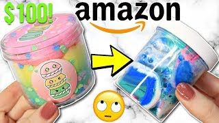 $100+ EXPENSIVE Amazon Slime Review! Is It Worth It?