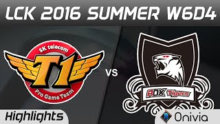SKT vs ROX Highlights Game 1 LCK Champions W7D4 2016 SK Telecom T1 vs ROX Tigers