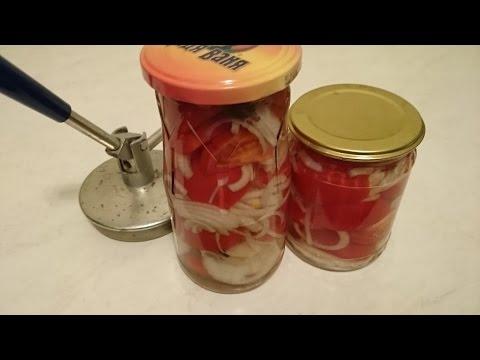 Заготовки на зиму салата из помидор Рецепт с желатином консервированные томаты вкусное блюда