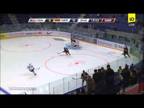 USA - Germany 8-0  IIHF Ice Hockey U20 World Championship. 27.12.2012
