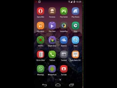 Android kitkat en Atrix HD MB886 (Cyanogenmod 11) + Tutorial
