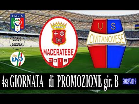 Sintesi HR Maceratese Civitanovese 2-1
