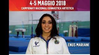 Enus Mariani - Campionati Serie A e B GAM/GAF 2018