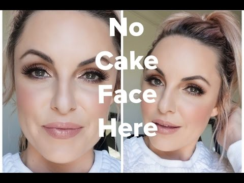 How to achieve a flawless look with NO CAKE FACE- Elle Leary Artistry
