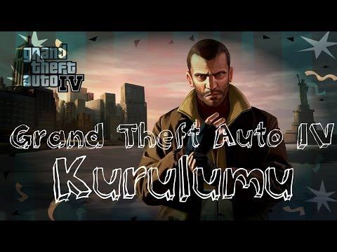 Grand Theft Auto IV ve RGSC Orjinal DVD Kurulumu