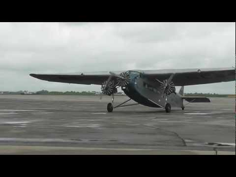 Ford Tri-Motor Staging at Blue Grass Airport