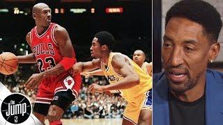 Scottie Pippen reveals Michael Jordan's most unguardable move   The Jump: OT