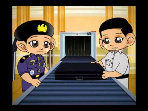 Dubai Customs Video at Kidzania (Arabic)