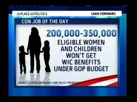 GOP: Cut Women & Children First! - Con Job