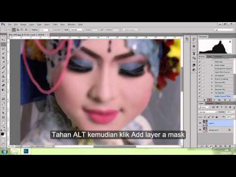 Tutorial Action Photoshop menghaluskan wajah 2 zafi skin care 2 BAGIAN 2