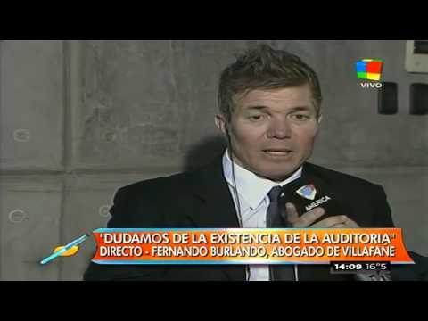 Fernando Burlando: Claudia no tuvo acceso a la auditoría