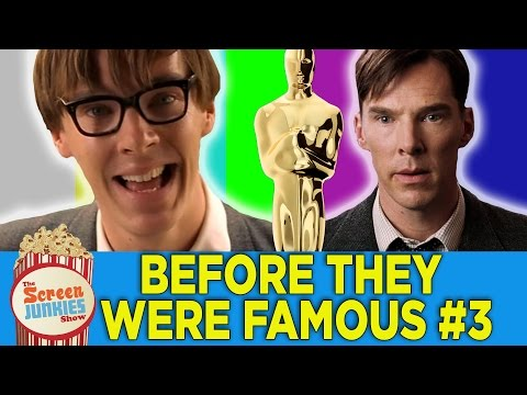 Before They Were Famous #3 - Oscars 2015 Edition