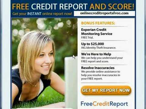 free credit report all 3 bureaus. Black Bedroom Furniture Sets. Home Design Ideas