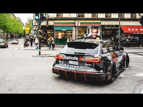 Jon Olsson's Audi RS6 DTM – most sought after car in the history of Uber Stockholm