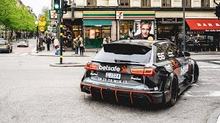 Jon Olsson's Audi RS6 DTM - most sought after car in the history of Uber Stockholm